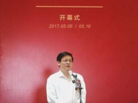 青年画家林建寿油画作品展在中国油画院开幕