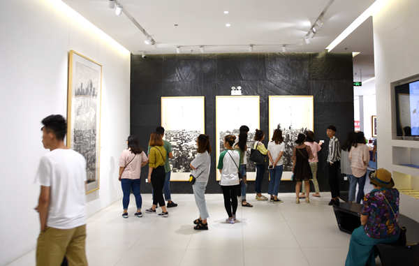 """""""怀城——樊枫美术作品展""""于6月1日在烟台美术博物馆开幕"""