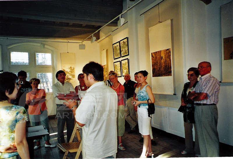 吴品翰2005年法国画展