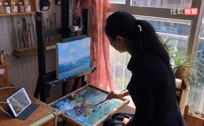 佛朗斯美术馆馆长、画家秦梵露