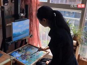 美女画家、佛朗斯美术馆馆长秦梵露女士